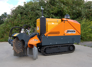 Stump grinder Jensen SCX 50 D